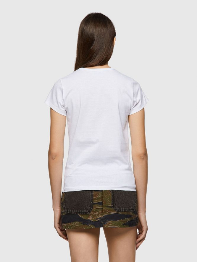 T-SHIRT ΜΕ ΕΚΤΥΠΩΣΗ LOVE FOR EVER DIESEL T-SHIRTS 8